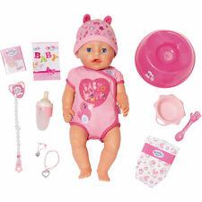 BABY born 826065 Soft Touch Girl Puppe  Funktionen viel Zubehör 43 cm - Neu
