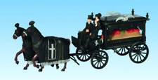Noch 16714 Horse Drawn Hearse Coach HO Gauge Figures Set