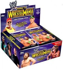 WWE Wrestling 2014 Road to WrestleMania Trading Card Box [Hobby Edition]