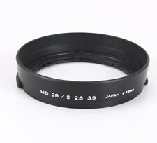 MINOLTA 49MM CLAMP-ON LENS SHADE/HOOD FOR THE 28/2 OR 2.8 OR 3.5 MD/213157