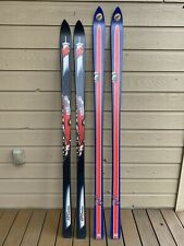 Rare Collectible Vintage K2 Coors Alpine Skis Denver Broncos MADE IN THE USA