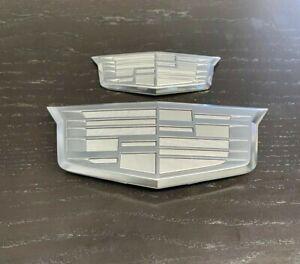 2015-2020 Escalade Grille/liftgate emblems Platinum set