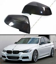 For BMW E84 F20 F22 F30 F32 F33 2 Pcs Replacement Carbon Fiber Mirror Covers Cap