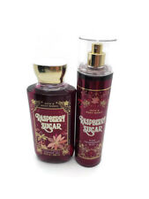 bath and body works raspberry sugar shower gel and fine fragrance mist