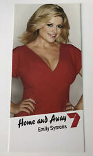 EMILY SYMONS *Marilyn Chambers* HOME AND AWAY Cast Fan Card NEW RARE