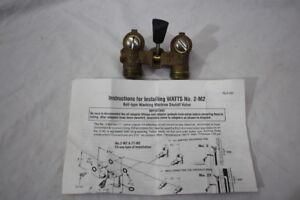 Watts 0006643 1/2 2-M2 Ball-type Washing Machine Shutoff Valve in Box