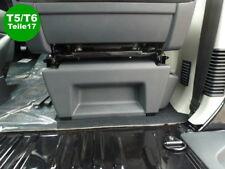 VW T5 T6 Sitz-Blende Konsolen Teil hintere Verkleidung grau Original