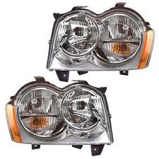05-07 Jeep Grand Cherokee Set of Headlights