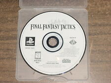 Final Fantasy Tactics Sony PlayStation 1, Disk ONLY