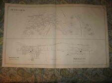 ANTIQUE 1892 HANOVER BETHLEHEM MAPLEWOOD LISBON NEW HAMPSHIRE MAP DETAILED NR
