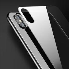 Rückseite Panzerfolie für iPhone 11 X 7 6 5 Hinten Schutzglas 9H Echt Glas Klar