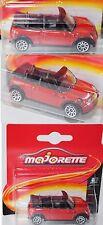 Majorette 212053050 Mini Cooper Cabrio karminrot 1:55