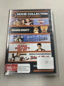Old School, Orange County, Varsity Blues, Ferris Bueller, School of Rock (DVD)
