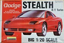 Lindberg   Dodge Stealth R/T/ Turbo   Large 1:20 Scale Model Kit