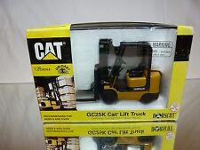 NORSCOT 55056 CATERPILLAR CAT GC25K LIFT TRUCK - MUSTARD 1:50 - GOOD IN BOX