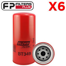 6 x BT349 Baldwin Oil Filter - Iveco Trucks - 1909137, LF3346, P551604