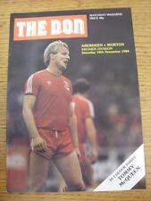 10/11/1984 Aberdeen v Morton  (Light Crease)