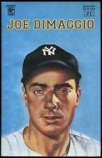 Joe DiMaggio #1 Celebrity Comics 1992 Joltin' Joe Yankee Clipper Biography art