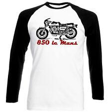 MOTO GUZZI 850 LE MANS Ispirato-Nuovo T-shirt Cotone-Tutte le taglie in magazzino