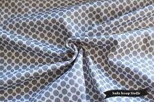 Jersey Stoff Baumwolle, Punkte, Muster, Weiß, Stoffe Meterware, Kinderstoffe