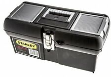 Stanley Metal Latched Toolbox 16 Inch Best Bag Box Soft-grip Handle Tool Storage