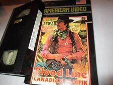 VHS - Blood Link - Canadian Pazifik - Randolph Scott - American Video