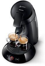 NEU Philips Senseo Original Kaffeepadmaschine Kaffe 1450 W 2 Tasser Schwarz NEU