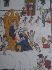 HANSI - rare lithographie en anglais – 1915