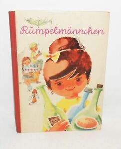 Eva Sonntag Rumpelmännchen Inge Uhlich 1964 Verlag Nitzsche Niederwiesa ! (B2