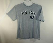 Mark Teixeira New York Yankees MLB Baseball T Shirt Size YOUTH LARGE L