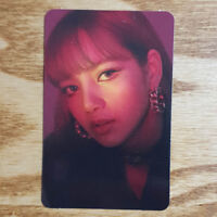 Lisa Official Photocard BlackPink 1st Mini Album Square Up Kpop Genuine