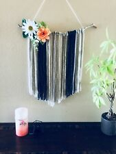 Macrame wall hanging boho art beach decor wedding bohemian home decor