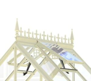 Robinsons Greenhouse Ivory Cresting & Finials 10-12ft