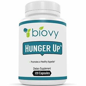 HUNGER UP™ - Best Appetite Stimulant by Biovy (with No Magnesium Stearate) - E