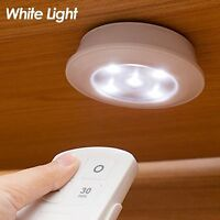 LED Wireless Under Kitchen Cabinet Cupboard Stair Light with Remote Control CE