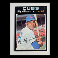 1971 Topps  Billy Williams #350 HOF **Combined Shipping Options**