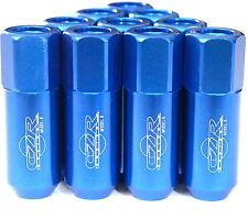 20PC CZRracing BLUE EXTENDED SLIM TUNER LUG NUTS LUGS WHEELS/RIMS (FITS:HONDA)