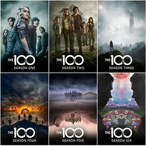 The 100 Poster Collection Bundle (Set of 6) TV Show Series - NEW - 11x17 13x19