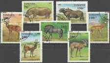 Timbres Animaux Tanzanie 1831/7 o lot 28119