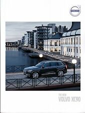 Volvo XC90 2016 catalogue brochure English Int'l