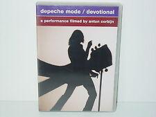"""****DVD-DEPECHE MODE""""DEVOTIONAL-A performance filmed by Anton Corbijn""""-2004****"""