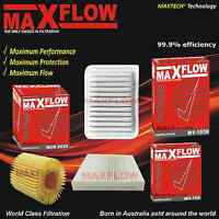 Maxflow® Fit Toyota Corolla ZRE152R 153 172 182 Air Oil Cabin Filter Service Kit