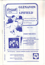 1985/86 Glenavon v Linfield - Irish League - 7th Dec - Vol 4 No 8