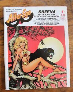 Alter Ego #21 Dave Stevens Sheena Cover