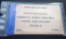 Detector Paper Chemical Agent EDC Survival Prep NBC CBRN