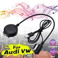 bluetooth Music Streaming Kit Lead Media Interface USB Cable Adapter For Audi VW