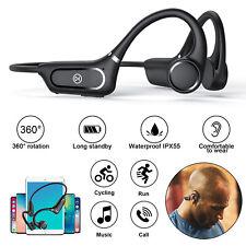 Bone Conduction Headset Open Ear Bluetooth 5.0 Wireless Headphones Outdoor Sport