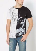 Star Wars Darth Vader Marbled Licensed Adult T-Shirt