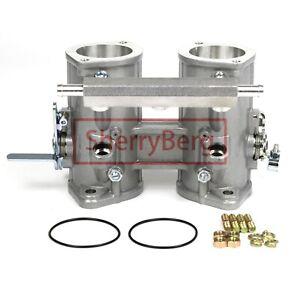 48mm Twin Throttle Body Injection rail Weber/Dellorto/Solex DCOE/DHLA rep. carb