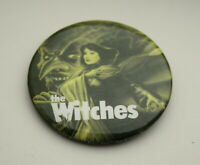 Warner Brothers The Witches Movie Blue Promo Button Pin New NOS 1990